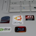 Powered by Ubuntu sticker