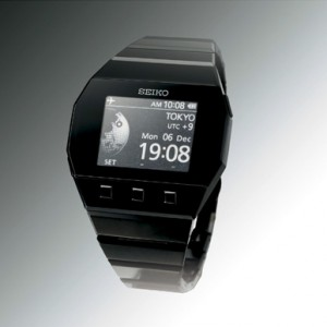 The Seiko FutureNow e-Ink watch