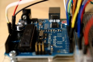 Arduino Duemilanove Side View