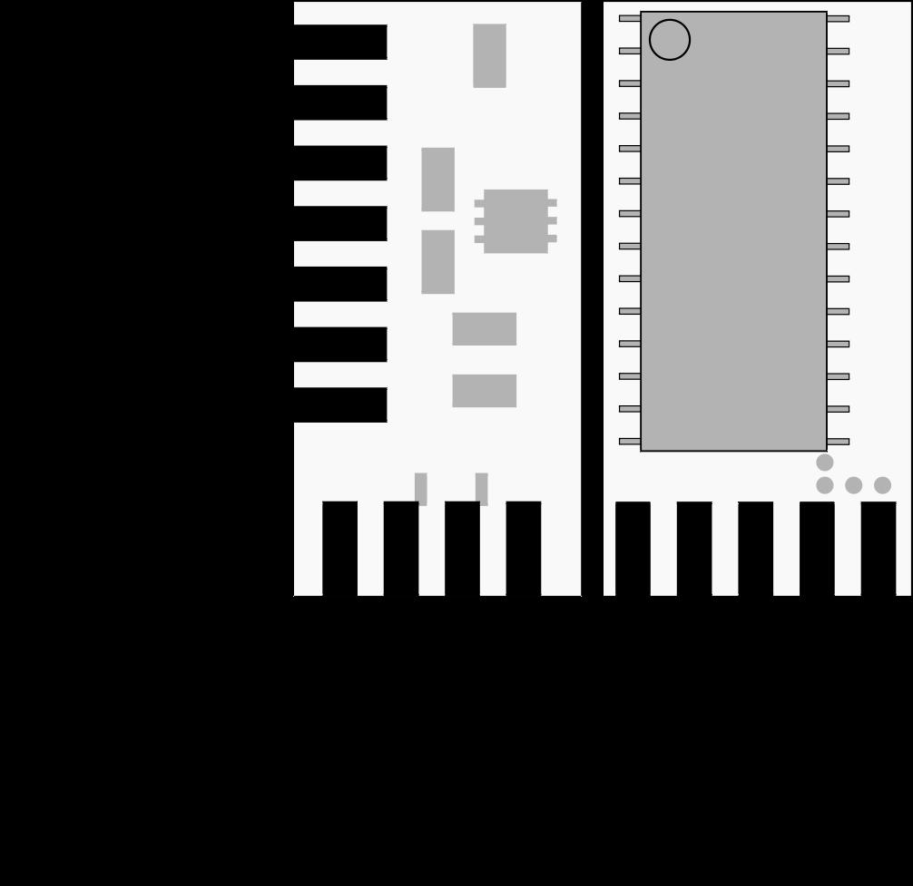 RetroGlove Pinout Diagram